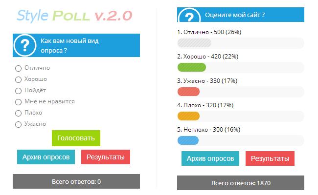 Веб скрипт голосования для хостинга скачать kexibq готовый сервер для css v59